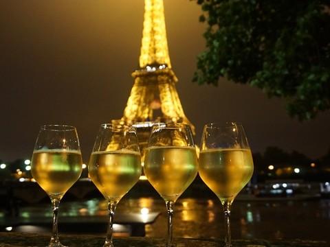 #파리 #야경 #와인