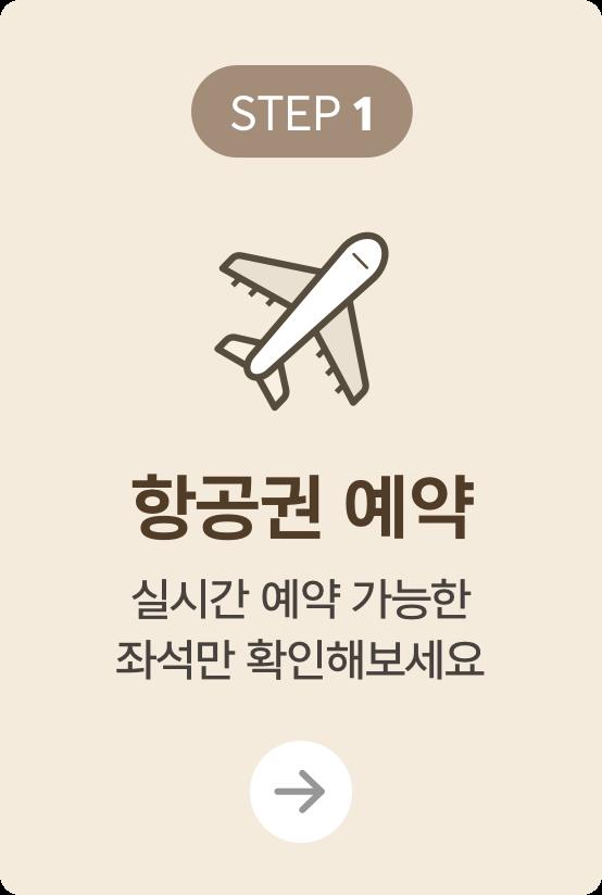 항공권 예약