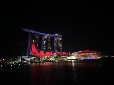 싱가포르 야경투어!! 리버크루즈+마리나베이샌즈 스펙트라쇼+가든스바이더베이 랩소디쇼