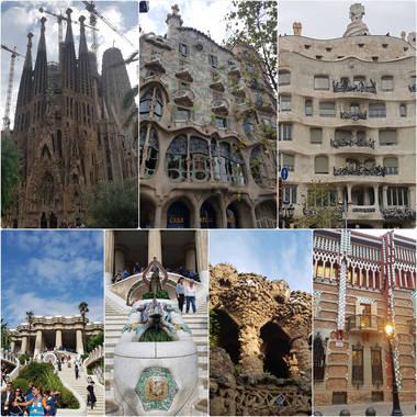 '그녀의 바르셀로나'  '그녀의 가우디 투어'
