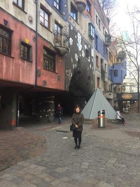 벨베데르, Hundertwasser 투어