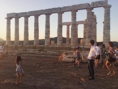 아테네 출발 : 석양의 아름다움이 쏟아지는 수니온 곶 투어