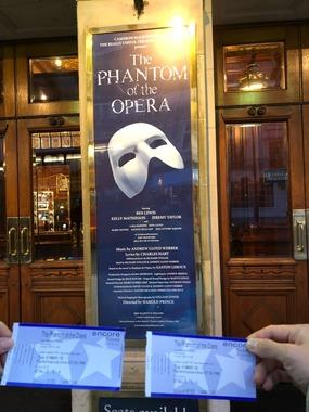 뮤지컬 오페라유령 공동구매 (1등급/저녁7:30)