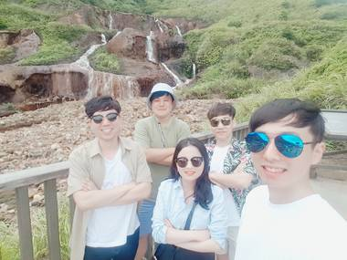 [대만택시투어] 예류/진과스/지우펀/스펀/스펀폭포/허우통/양명산온천 골라서 가기!