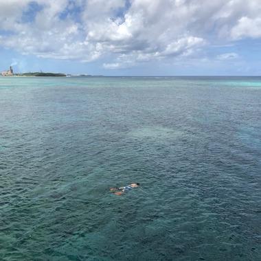 에메랄드 바닷속 산책!!! 괌 씨워커 오리지널 (무료픽업+수상액티비티)